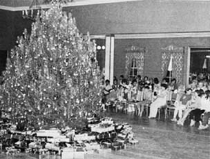 parker ranch christmas party post world war ii